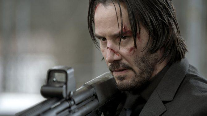 Hide your puppies - Keanu Reeves and the JohnWick creative team are returning for the sequel