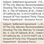 Business as usual: $275,000 in #Oakland Police abuse settlements on the 5/5 #oakmtg agenda: https://t.co/Ux9PxZe74A http://t.co/HKj6gCs1V1