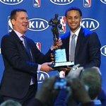 Stephen Curry receives #NBA MVP Award. LIVE STREAM: http://t.co/kmJzZQaoWG #Warriors #WarriorsTalk http://t.co/ghGZPz8Gps