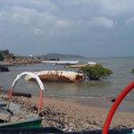 4May/3:32pm/imágenes de Playa Veracruz sin novedad hasta el momento. http://t.co/Z6NJzow8FM