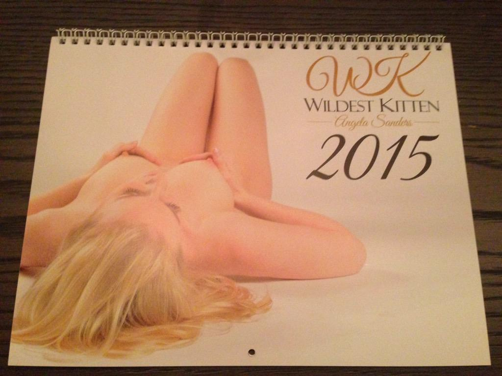 The highest tipper of tonight while I'm not around gets the official 2015 WildestKitten calendar! Love