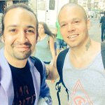 RT @Lin_Manuel: Sometimes you run into your famous rapper cousin in the street. http://t.co/icve1VlzRJ