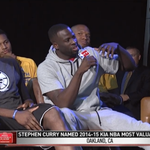 """Draymond Green asks Curry: Kobe got his teammates watches. """"What are you getting us?"""" http://t.co/44BkMXcMpE"""