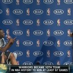 """Draymond Green to Stephen Curry — """"Kobe gave his teammates watches, what are you getting us?"""" #MVP http://t.co/CvV8M5BKvJ"""
