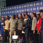 MVP Steph Curry & the Warriors http://t.co/H4vHustjoV