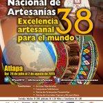 Sé testigo de la Excelencia Artesanal para el Mundo, en la #FNA2015 #Panamá @CarlotadeAllen @GrimaldoManuel http://t.co/IuD3BDVt3s