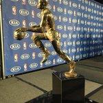 Sweet mantle piece #MVP #StephCurry #Warriors #Dubson7 @abc7newsBayArea http://t.co/QwoKB3BURQ