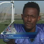 Iowa Western football player recruited by many Division 1 programs http://t.co/XO5HcBTmLG http://t.co/387CUeENNk