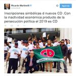 Opinión del expresidente @rmartinelli sobre las inscripciones de nuevos miembros del partido @CaDemocratico http://t.co/xwPwkV9HDG
