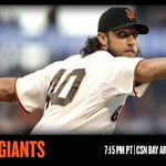 #MadBum is on the hill as the #SFGiants open up a series with the Padres at 7:15 PT. http://t.co/5jFz7WB1xS http://t.co/071zNoybE9