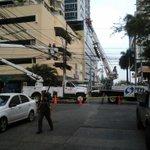 Continuamos atendiendo incidencia en Calle Uruguay @tvnnoticias @TReporta @nexnoticias http://t.co/ltH9sEK7BF
