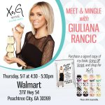 Atlanta fans, I'm heading your way! Meet me Thurs, 5/7. I'm signing copies of #GoingOffScript & bottles of @XoGWine! http://t.co/UfpUg6fFrB