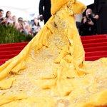 No big deal, but Rihanna just SHUT. IT. DOWN. #MetGala: http://t.co/CmCdMANuce http://t.co/AWjRLEUV41