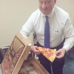 I know its not 11 yet, but after talking about it so much, had to order pepperoni pizza for campaign! #NextMayorPHL http://t.co/m4TXXSue2V