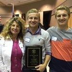 Congrats to Riley Reimchisel on his Sertoma Award tonight! http://t.co/V4JWxM6vP1