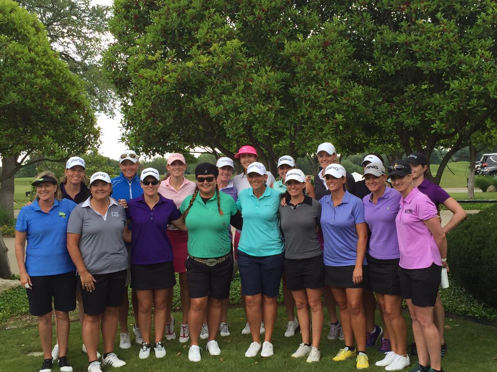 I'm lucky to play on the best tour in the world. These ladies rocked it today!!! Thank u all!! @LPGA  #bighearts http://t.co/Bm4eX2gVqD
