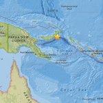 Alerta de tsunami tras sismo de 7,4 en Papúa Nueva Guinea, advirtió el Centro de Tsunamis del Pacífico. http://t.co/SnGXOC6Amm