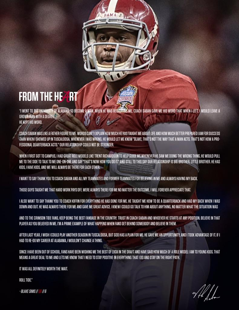 .@_bsims6 taught us it's not about when you get your opportunity, it's about what you do with your opportunity. http://t.co/kSwmqSARHZ