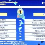 The draw is complete, the Bucs will take on AS Kaloum for the right to play the Group Stages of #CAFConfedCup http://t.co/PkY0qXsOjd
