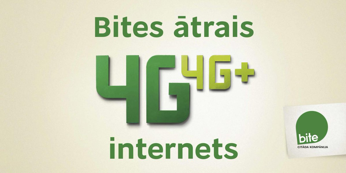 #Bite4G ir klāt! No šodienas - 900 000 Rīgas un Pierīgas iedzīvotāju! http://t.co/LvsInV256t http://t.co/mw0o5aFarY
