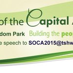 State of the Capital Address: 14 May 2015, Freedom Park. http://t.co/Q4bDTpSk8Q