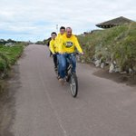 #ThreeMenOnABike from @thebeeofficial to take on our #BigCharityBikeRide on May 17! Join them? http://t.co/hYP3G9aOZd http://t.co/1ibpu5JTtY