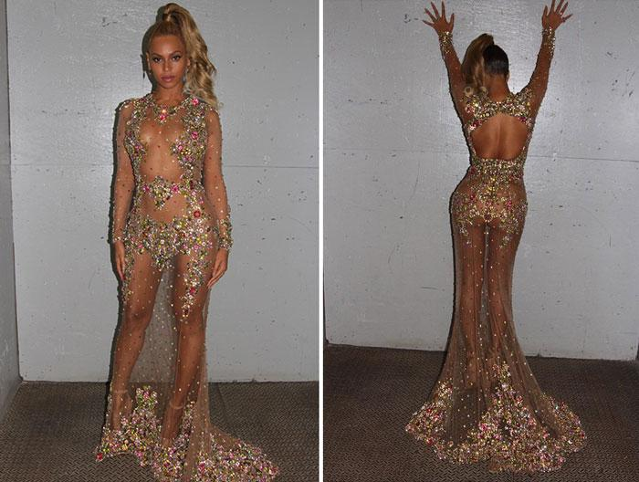 Beyoncé won the #metgala in her glittery givenchy gown - scoopnest.com