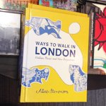 Jolly nice to see #WaystoWalk in #London in @WstonesChiswick today! @Septemberbooks http://t.co/VNpYeBeWQl