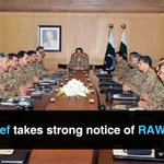 RT RT DailyTimes_DT: Armychief takes serious notice of #RAW's nefarious activities in #Pakistan Corps Commanders … http://t.co/5jrH5RgFLt