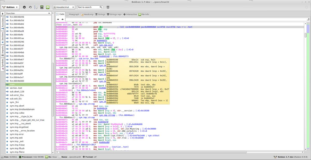 #Bokken - Open Source #Reverse Code Engineering https://t.co/Jyr7a0TdAi  #Binary analysis http://t.co/fybkjh1JgT
