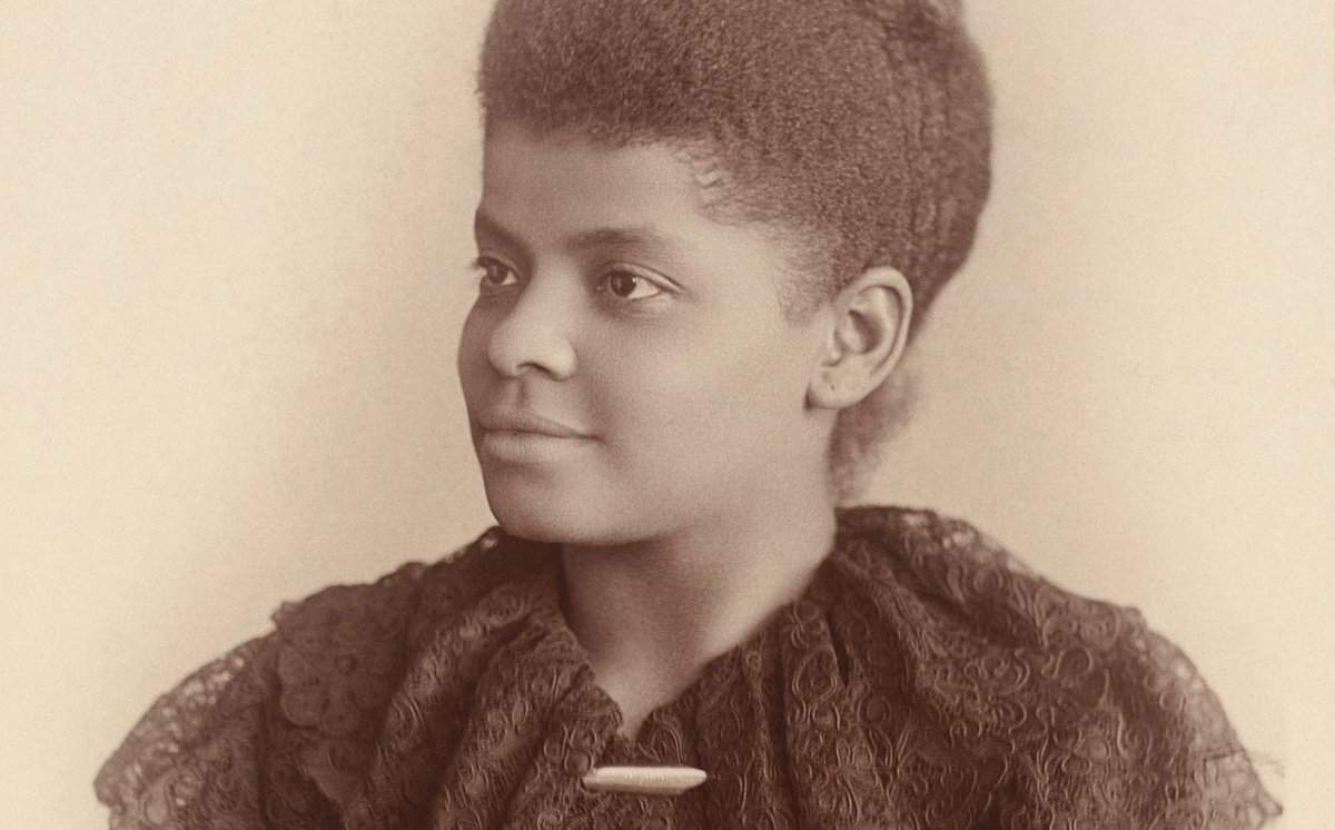 This Week In 1884: Ida B. Wells refuses to give up her seat, then dragged off by white men. 71 yrs before Rosa Parks. http://t.co/wiOhKsY9jd
