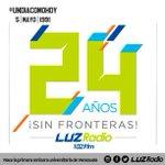 #UnDíaComoHoy nacemos en 1991, en Maracaibo, como LUZ FM, la primera emisora universitaria de Vzla. ¡Hoy son 24 años! http://t.co/7uGSofAone
