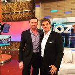 Congrats to my mate @DrOz on your 1000th show.