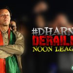 #DharnaDerailedNoonLeague Thank you @ImranKhanPTI for standing firm just for the people of Pakistan! http://t.co/zkOZyCpe2z