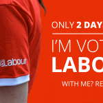 In two days you can vote for a Labour government. RT if you're with us. http://t.co/Y9EasjMgl1