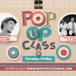 POP UP ALERT! Incredible line-up ft. @Andi_Vega @its_chapman @JasonP_Dancer 6:30-9:30pm at @MarylandStudioz #London http://t.co/vc9yTQoduc