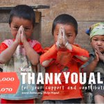 Thank you for making this possible! @ketto #Nepal http://t.co/8gB9yunJga