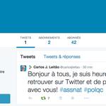 Le ministre des Finances du Québec, @carlosjleitao est sur Twitter ! #PolQc #PLQ http://t.co/uqoISkpyub