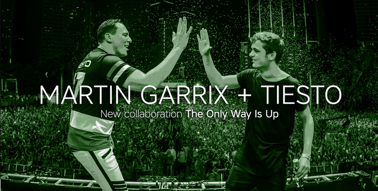 Stream 'The Only Way Is Up', the new track from @MartinGarrix and @tiesto on your Beatport app http://t.co/f63TzS1549 http://t.co/X1Xbjqkc75
