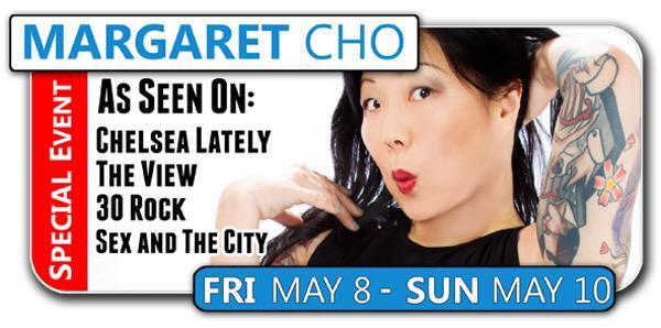 This weekend enter the mind of the brilliant @margaretcho Live in #DFW! These tickets are going fast! #AllAboutSex http://t.co/tzZSg7Iyxv