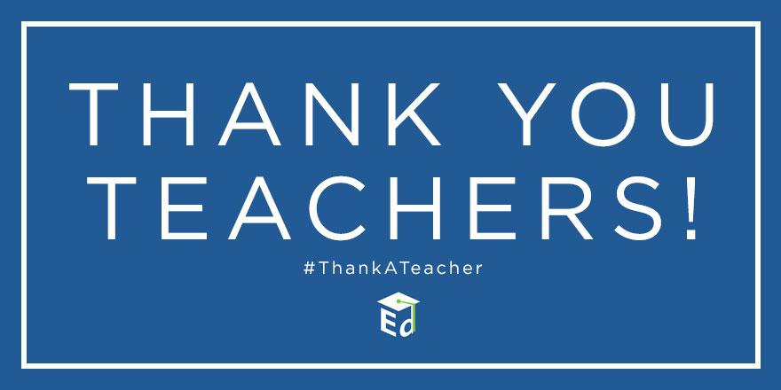 Thank you teachers for inspiring students to #ReachHigher! #ThankATeacher http://t.co/lwMg5fwuQJ