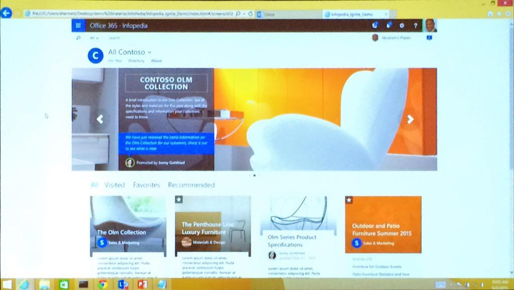 "KM NextGen Portal, code named ""InfoPedia"" #MSIgnite http://t.co/Jn7n3J0jI4"