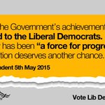 ".@Independent: ""Many of the govts achievements are owed to the #libdems"" http://t.co/sBXVhoM18r http://t.co/B9Q1HFncDs"