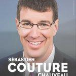 Sébastien Couture, @SCouturePQ, sera le candidat du #PQ dans #Chauveau. #polQc #assnat http://t.co/XKulCLtAxE