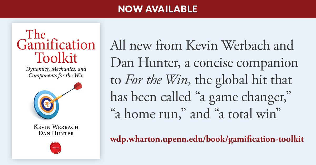 The Gamification Toolkit, my new ebook, dives into designing with game elements:    http://t.co/hA7V3oIdgO http://t.co/XkvqooTzh8