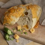 Celebrate #CincoDeMayo with our Jalapeno Cheddar #Bread, tomato #salsa, and #guacamole! http://t.co/V1T2WX2kJs