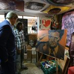 United States Secretary of State John Kerry connects with artists at @Pawa254: http://t.co/GdsP4U2rw0 http://t.co/pT1dKofiW7