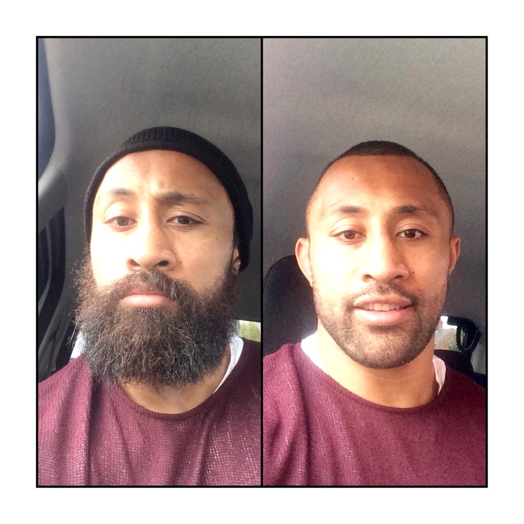 As promised beard is off! Great effort everyone on donating so far! You can still donate at http://t.co/ycPzvH45fJ http://t.co/WFoetEqKvC