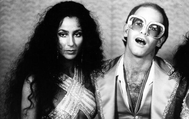 Happy Birthday Hope you have a wonderful day! Elton & Cher