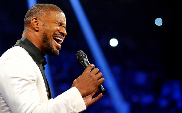 Jamie Foxx blames equipment failure for MayPac National Anthem performance:
